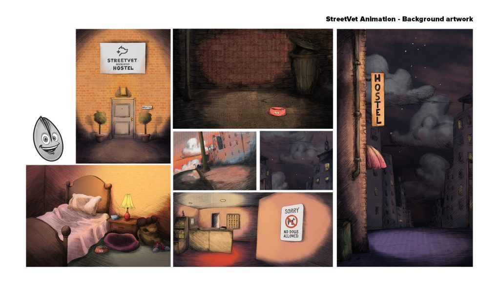 Fundos e pinturas StreetVet